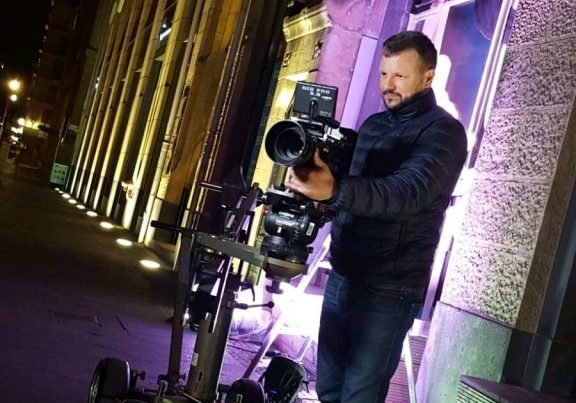 Corporate Film ist Nicos große Leidenschaft.