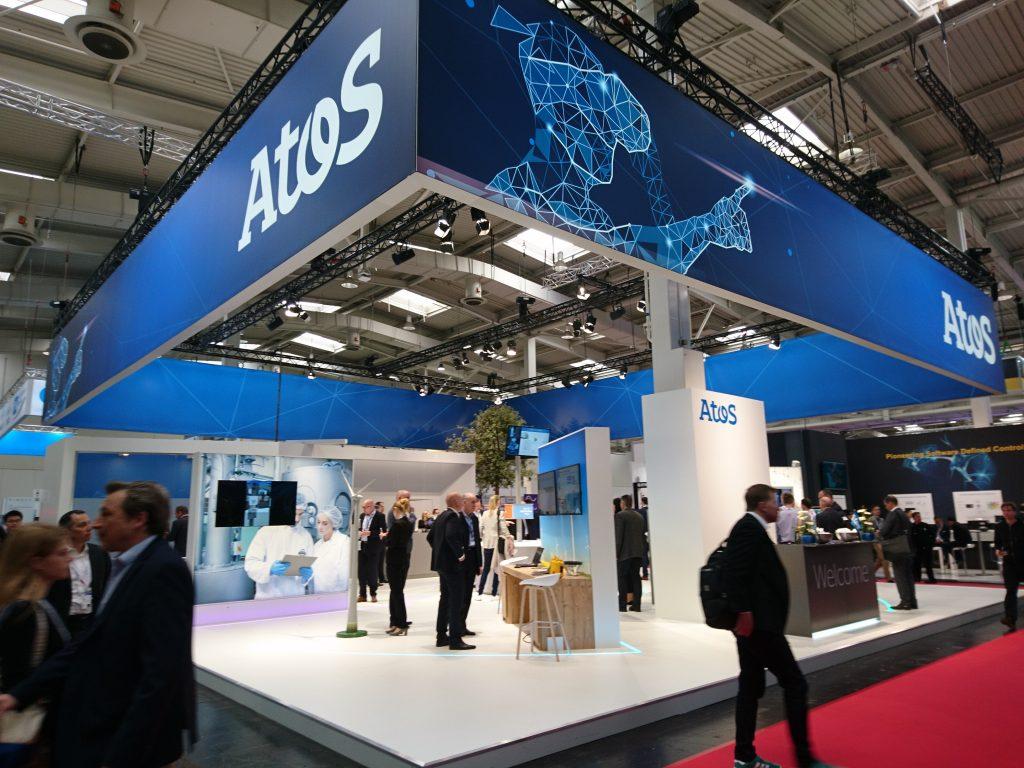 Am Atos-Stand gewannen Besucher einen Gesamteindruck der digitalen Fabrik und des neuen Produktlebenszyklus.