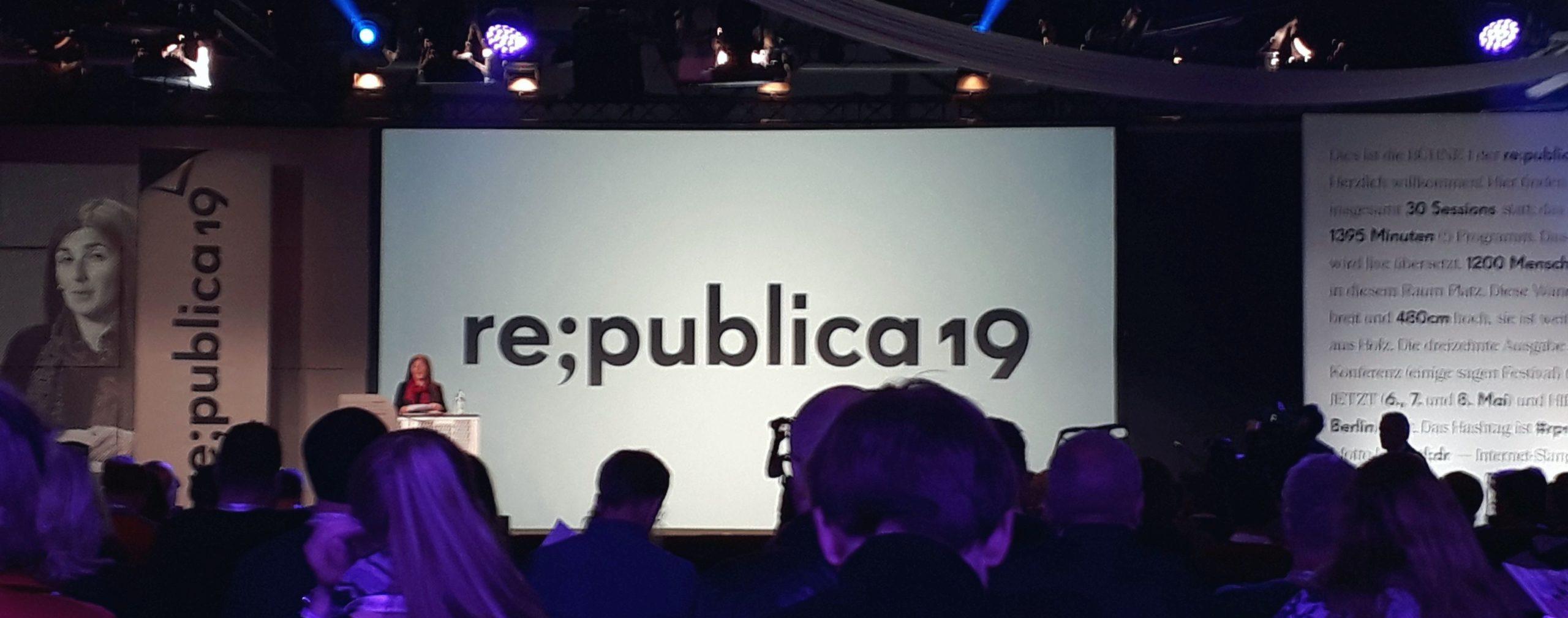 Republica 2019: Wohltuender als ein Kneippbad