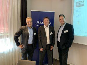 v.l.n.r. Alexander Fink, Volker Schmidt und Jörg Forthmann