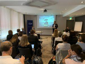 Jörg Forthmann vom Faktenkontor erläuterte die 10 Erfolgsfaktoren in der Krisen-PR und sprach außerdem über die juristischen Möglichkeiten im Krisenfall