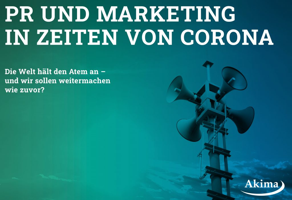 Whitepaper: PR und Marketing in Zeiten von Corona